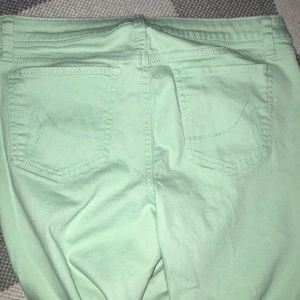 Apt. 9 Jeans - Apt 9 light mint green straight leg ankle pants